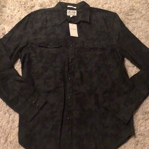 Lucky Brand Long Sleeve Button Up